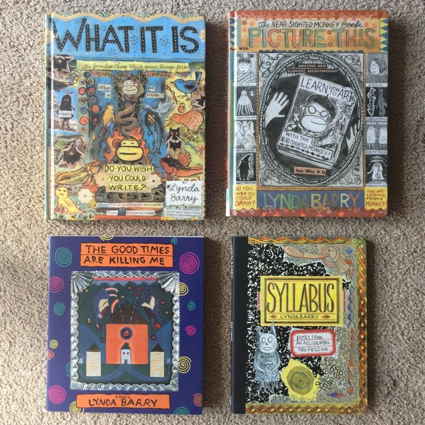 Lynda Barry books